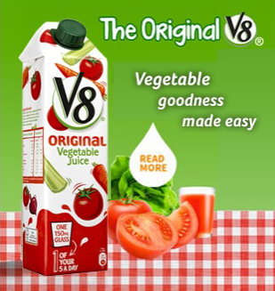 Our V8 Juices