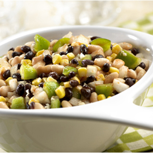Black and White Bean Salad Recipe with V8 Juice