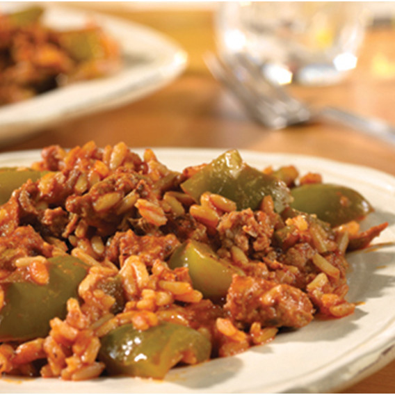 Heart-Healthy Unstuffed Peppers Recipes with V8 Juice