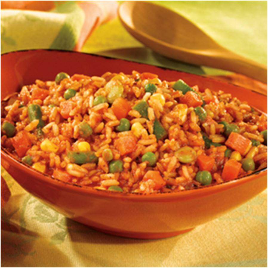 Italian-Style Rice & Vegetables Recipe with V8 Juice
