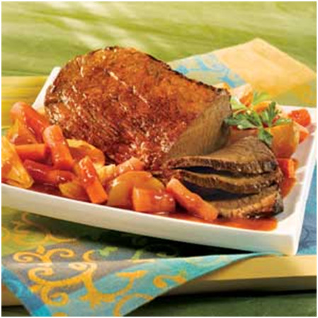 Pot-Roast Beef with Vegetables Recipe with V8 Juice