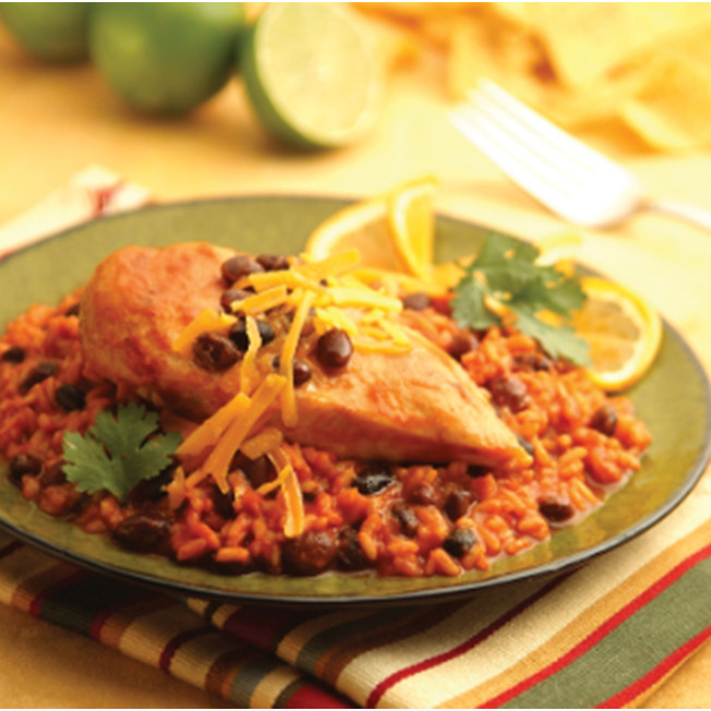 Zesty Mexican Chicken Recipe with V8 Juice