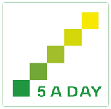 5 a day government logo