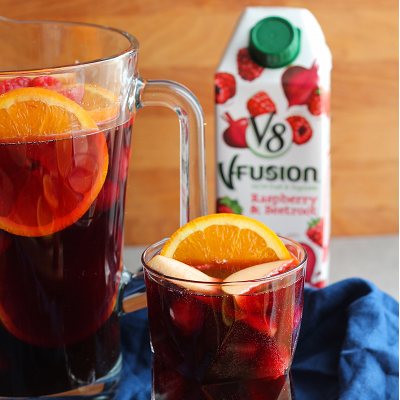 V8 Fusion Raspberry & Beetroot Sangria