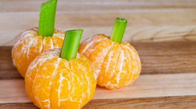 mini pumpkins for halloween
