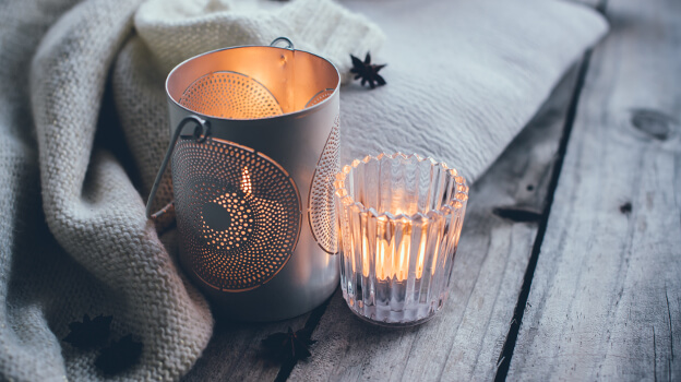 candles hygge