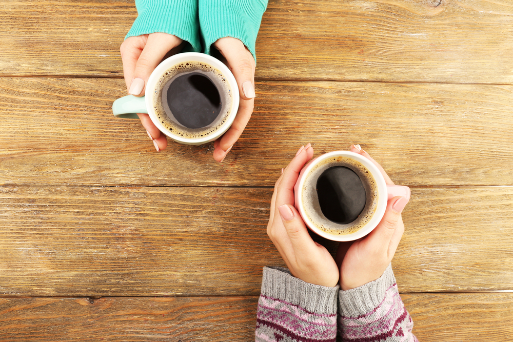 Make a small health change by swapping out a coffee