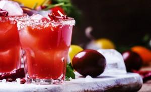 Tomato Martini Cocktail